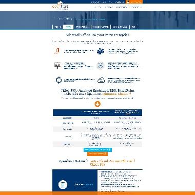 Openhost Network HomePage Screenshot